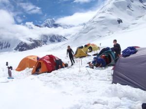 Лагерь 1 под Победой