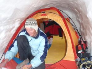 Палатка в пещере- суперлюкс