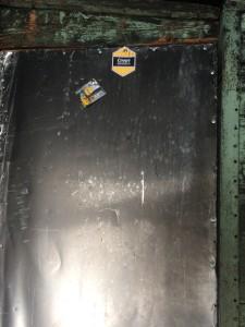 Отремонтированная дверь